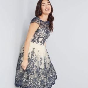 Chi Chi London Blue lace dress (Seen on Modcloth)